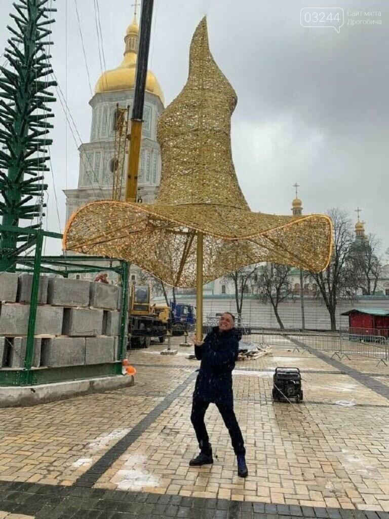 У Києві монтують головну ялинку – вона буде в капелюсі!, фото-2