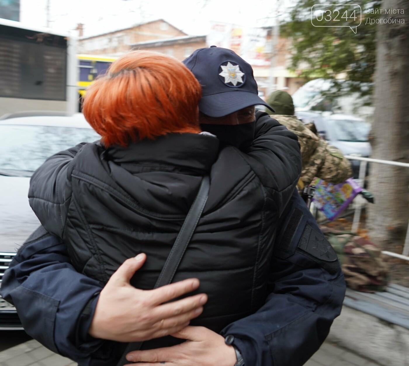 Стежитимуть за порядком - загін правоохоронців Львівщини в порядку ротації вирушив  на схід України, фото-7
