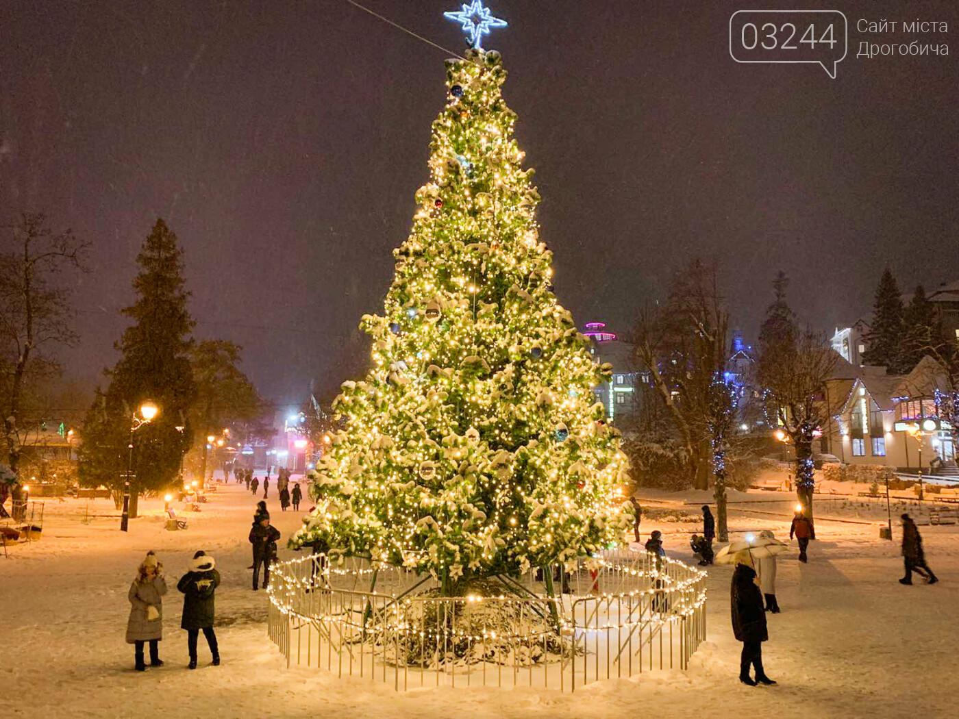 Головні новорічні ялинки Дрогобича, Трускавця та Борислава готують до свят – вогні на них запалять 18 грудня  , фото-2