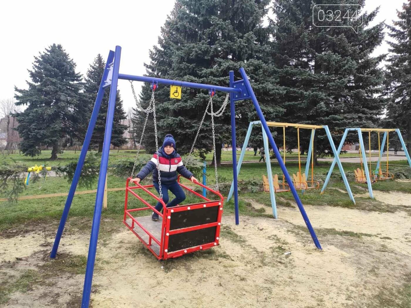 У Дрогобичі відкрили інклюзивний дитячий майданчик для особливих діток, фото-8