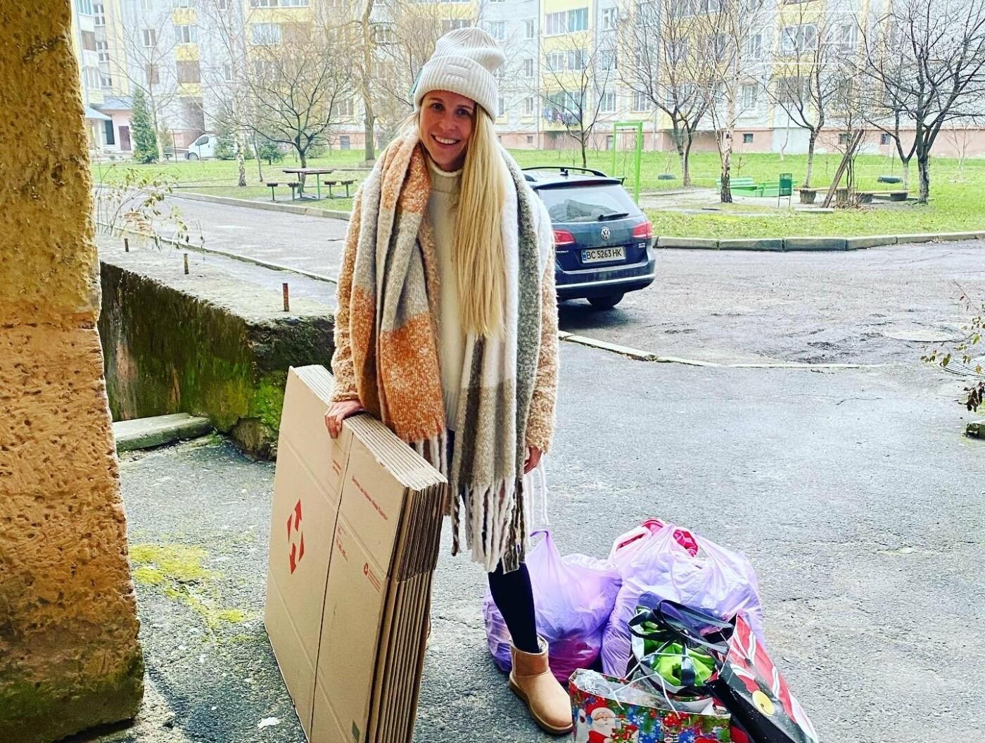 «Є сім'ї, які потребують не дорогих телефонів, а їжі та одягу», - Катя Максимова про благочинну акцію для потребуючих родин, фото-1