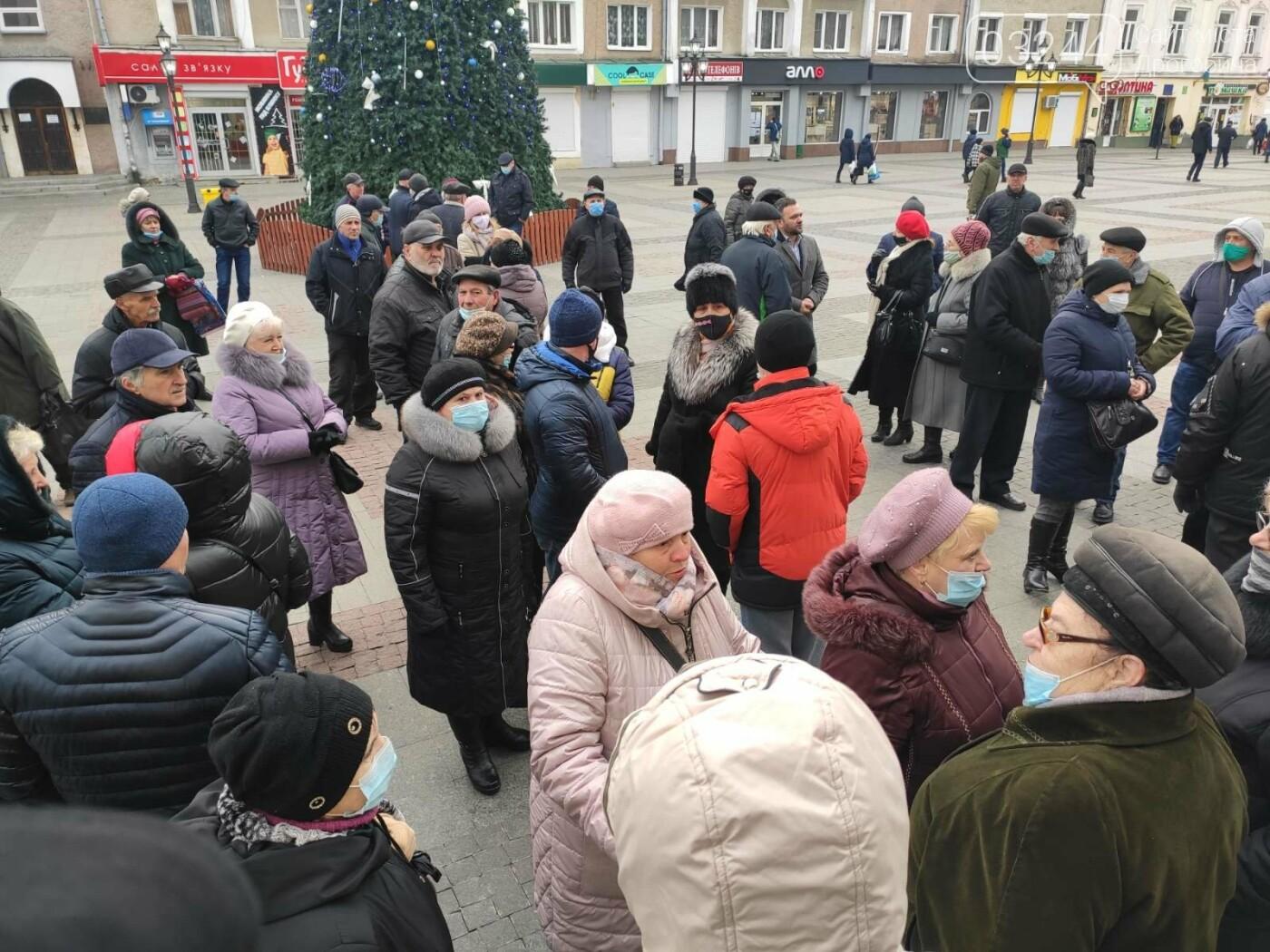 """В Україні почалися """"комунальні бунти"""". Проти підвищених тарифів на газ страйкували і в Дрогобичі, фото-6"""