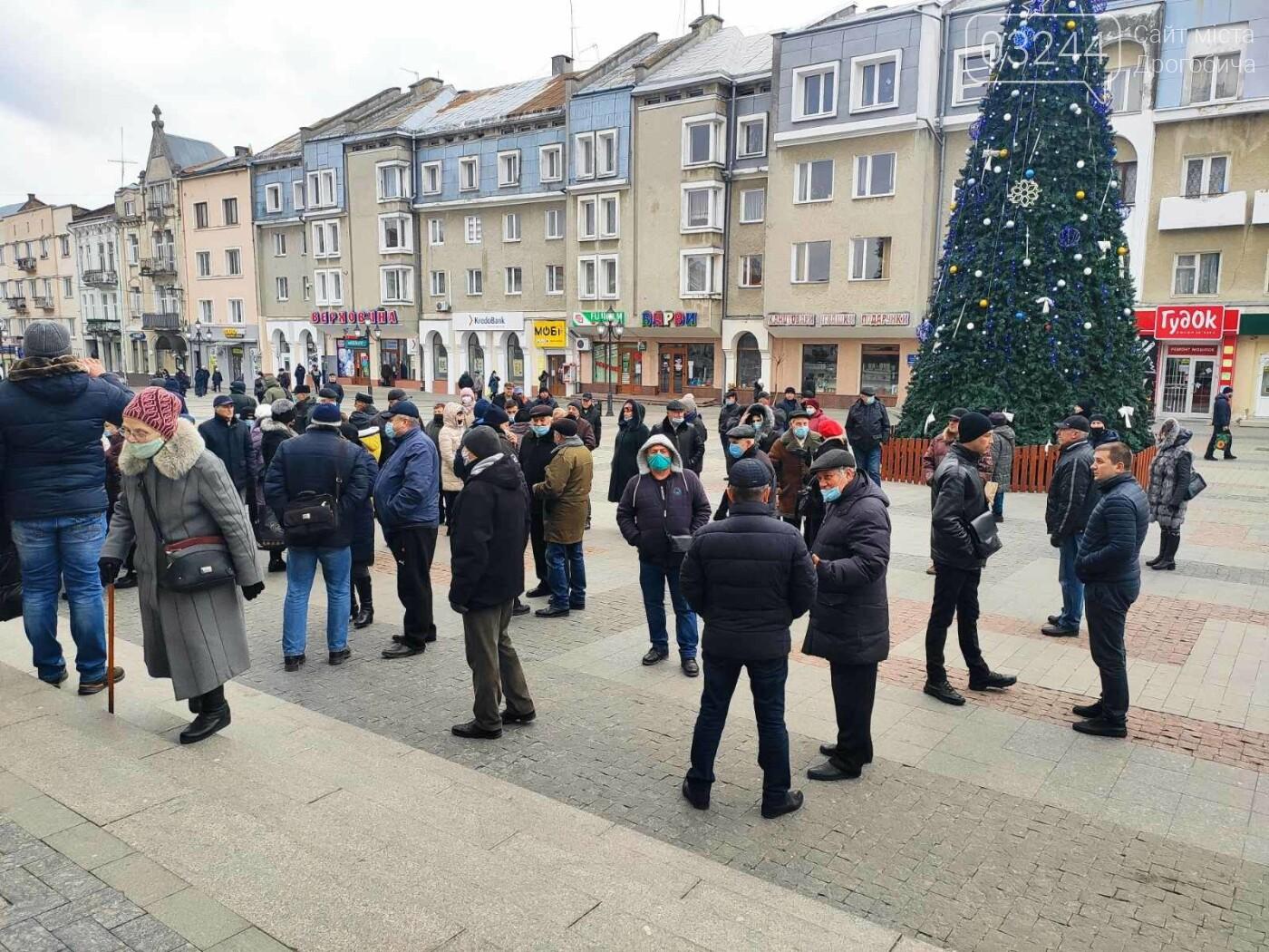 """В Україні почалися """"комунальні бунти"""". Проти підвищених тарифів на газ страйкували і в Дрогобичі, фото-7"""
