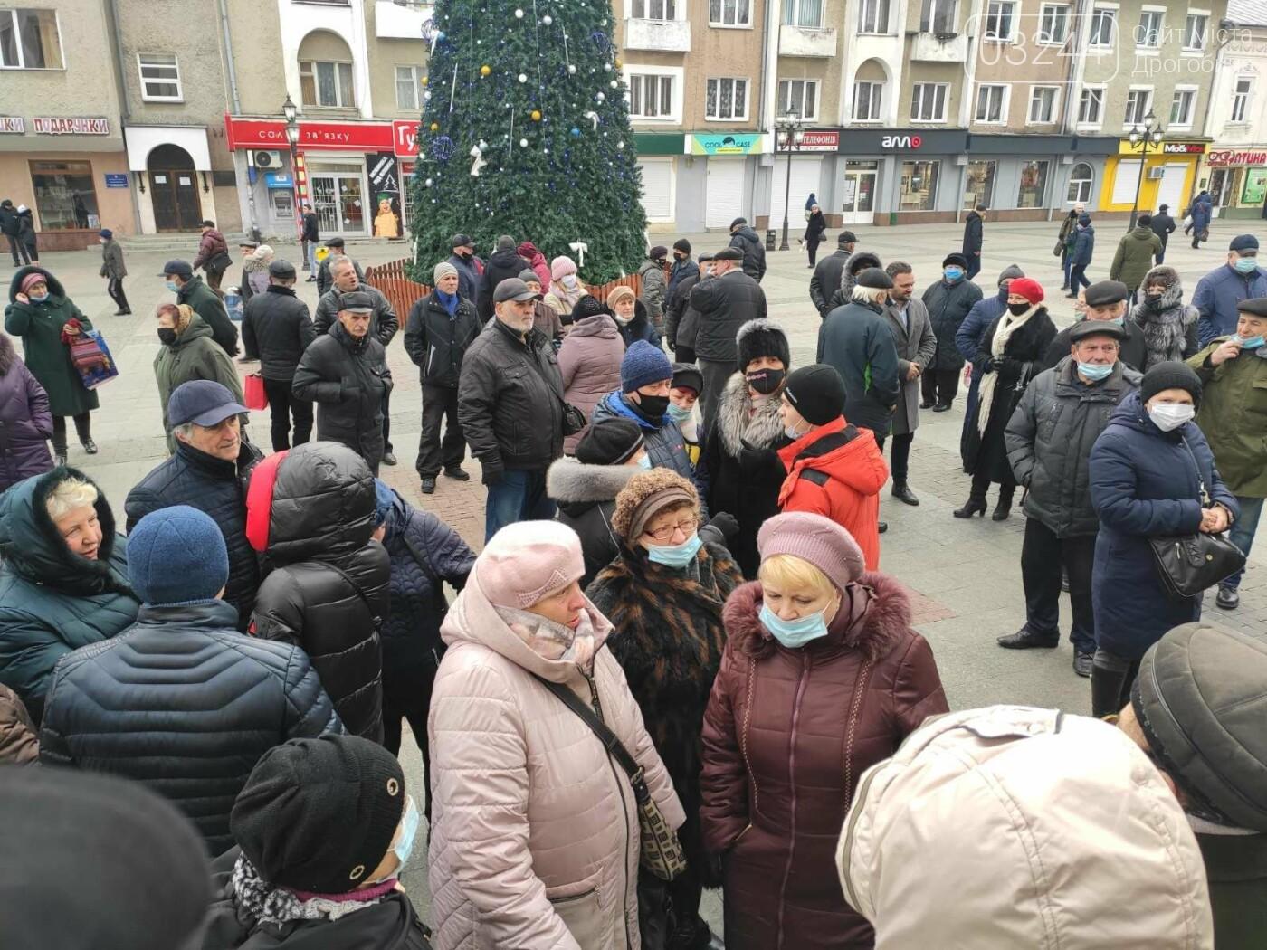 """В Україні почалися """"комунальні бунти"""". Проти підвищених тарифів на газ страйкували і в Дрогобичі, фото-8"""