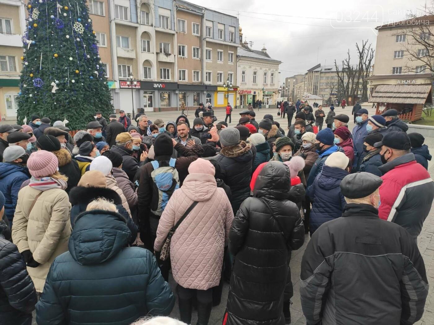 """В Україні почалися """"комунальні бунти"""". Проти підвищених тарифів на газ страйкували і в Дрогобичі, фото-5"""