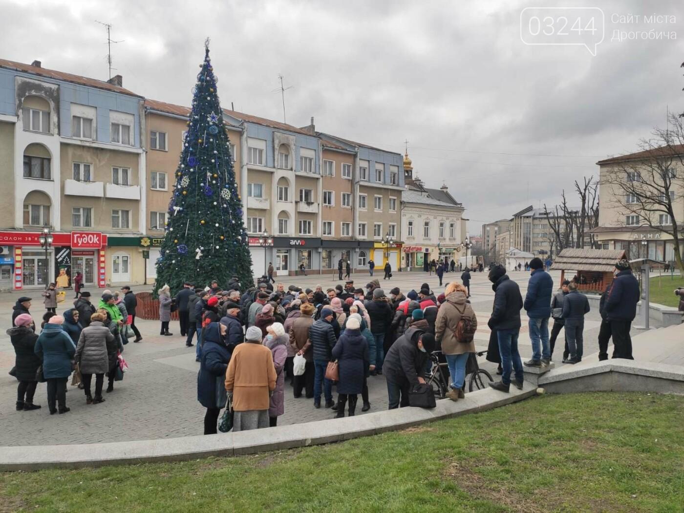 """В Україні почалися """"комунальні бунти"""". Проти підвищених тарифів на газ страйкували і в Дрогобичі, фото-2"""