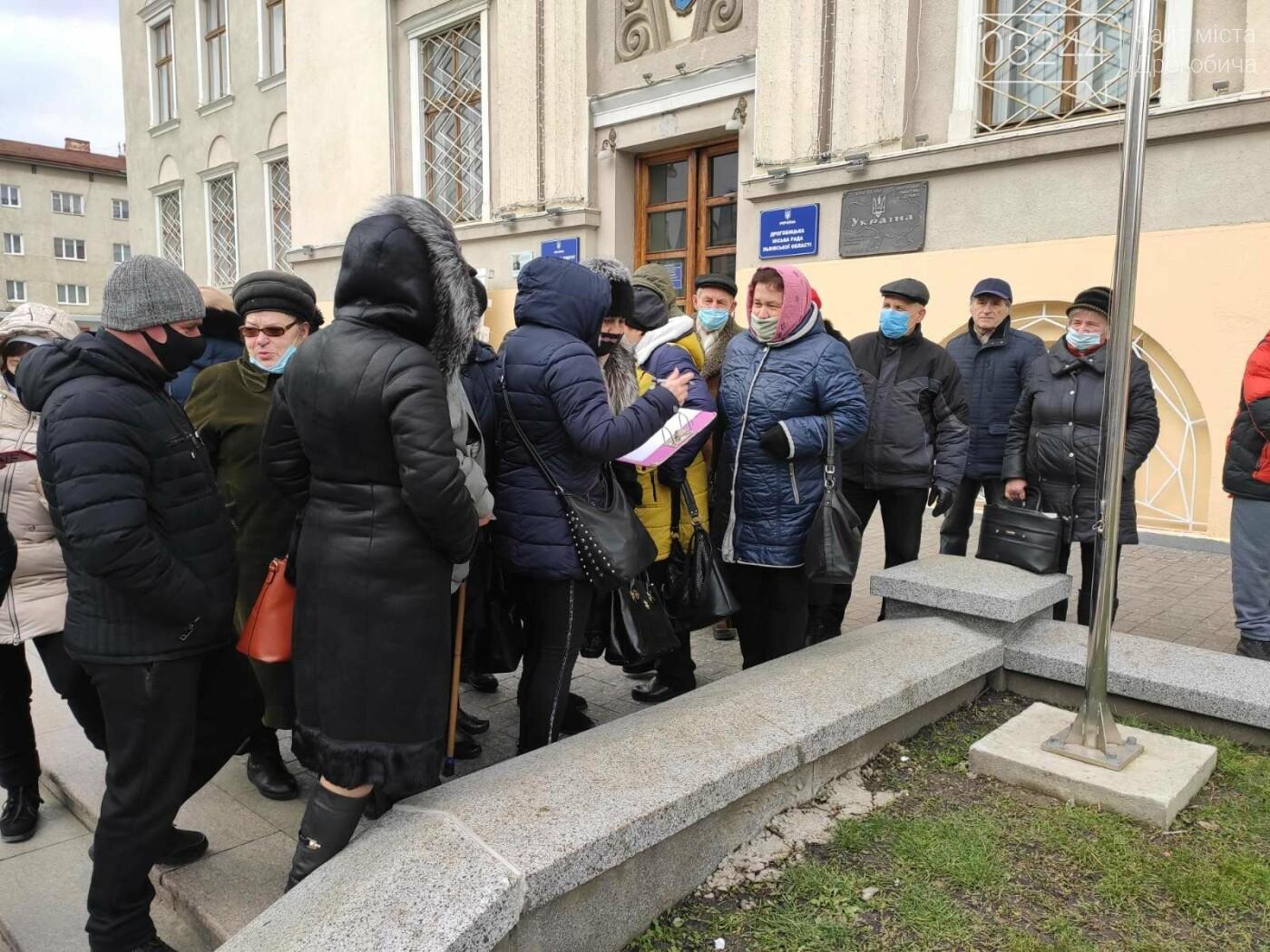 """В Україні почалися """"комунальні бунти"""". Проти підвищених тарифів на газ страйкували і в Дрогобичі, фото-9"""