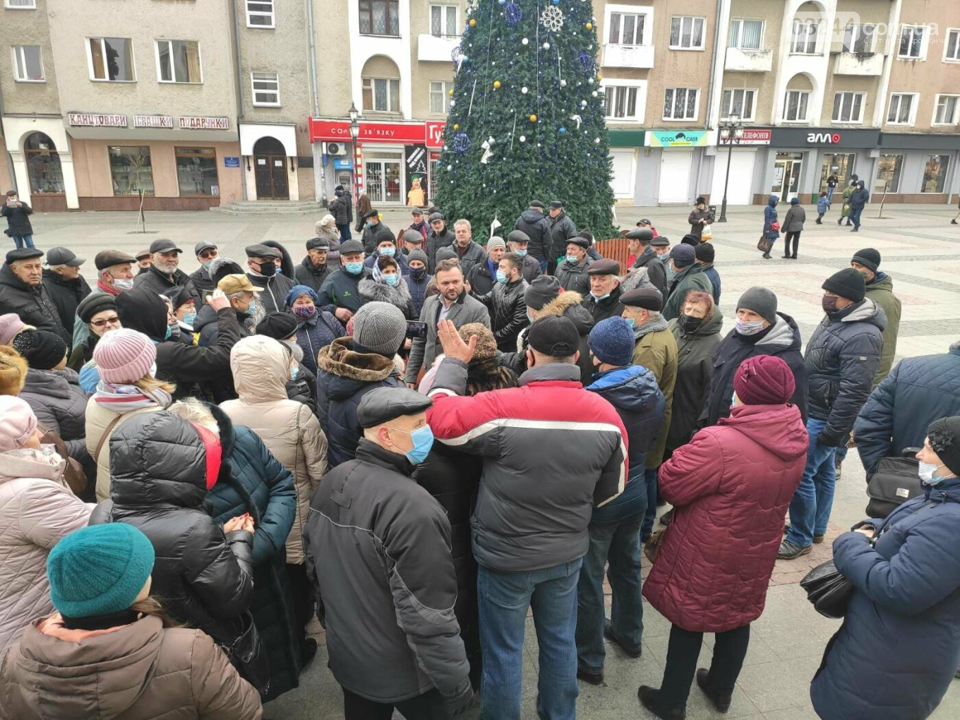 """В Україні почалися """"комунальні бунти"""". Проти підвищених тарифів на газ страйкували і в Дрогобичі, фото-4"""