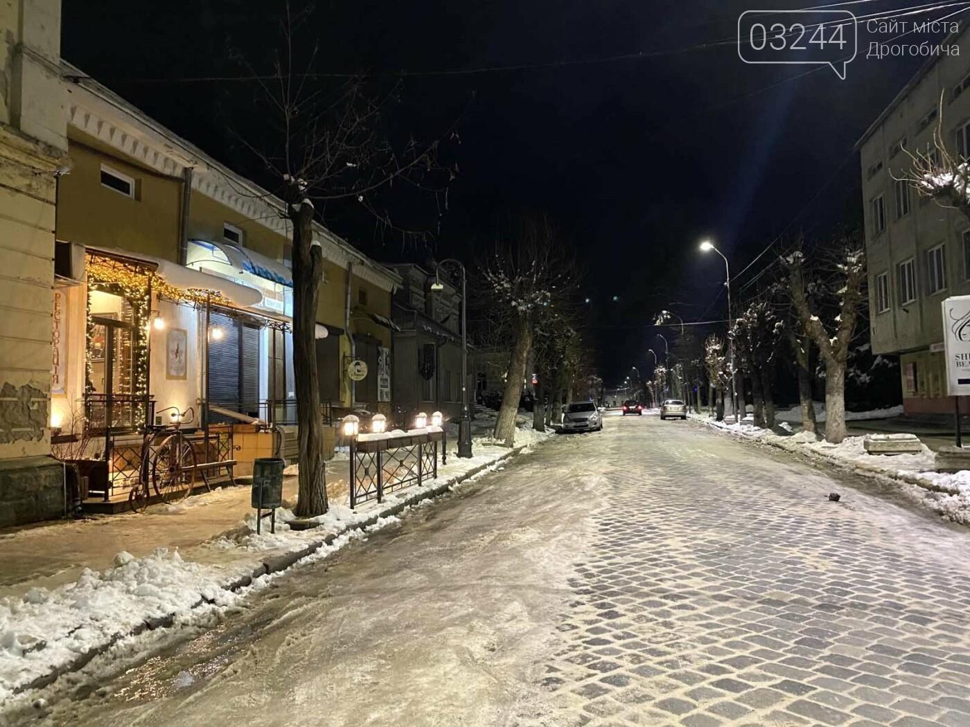Снігова магія нічних вулиць Дрогобича, - Фоторепортаж, фото-8