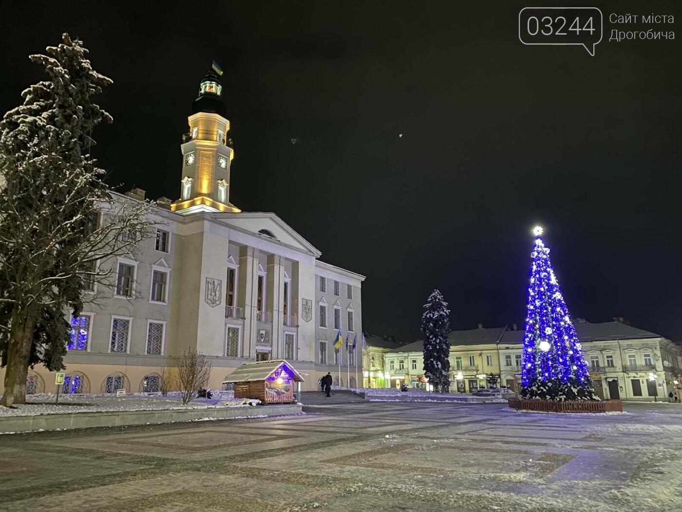 Снігова магія нічних вулиць Дрогобича, - Фоторепортаж, фото-5