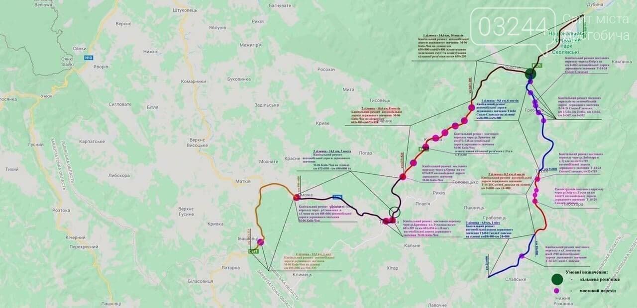 Цьогоріч планують відремонтувати 25 км доріг Львівщини в межах «Малого карпатського кола», фото-1
