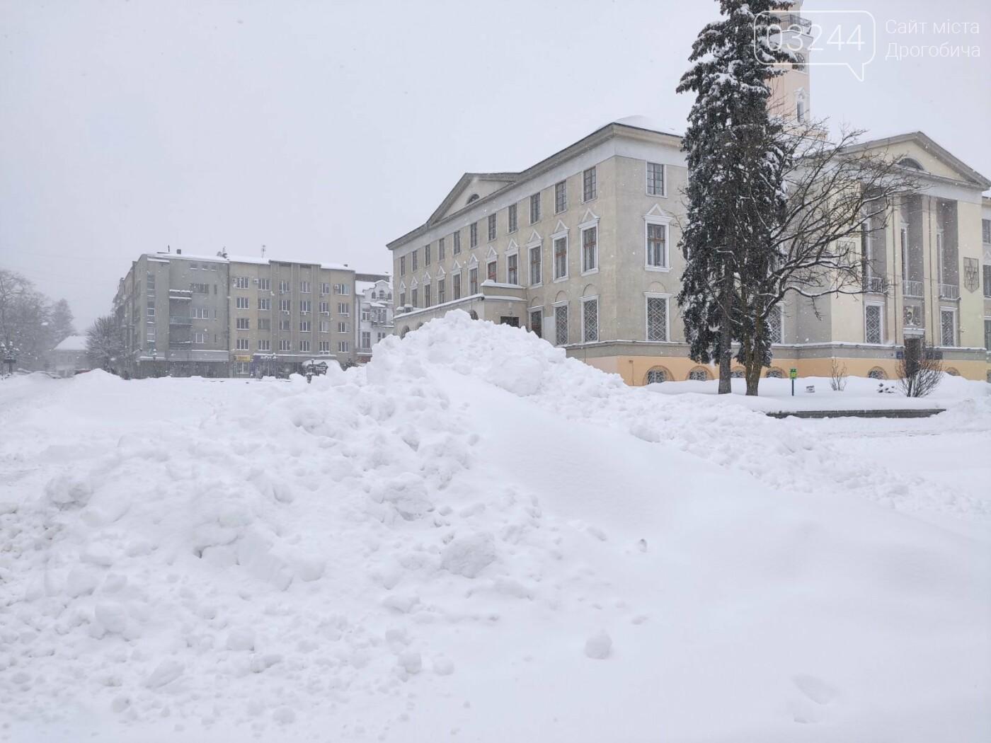 У сніговій пастці – негода випробовує Дрогобиччину. Не всім сьогодні вдалося потрапити на роботу та до школи, фото-28