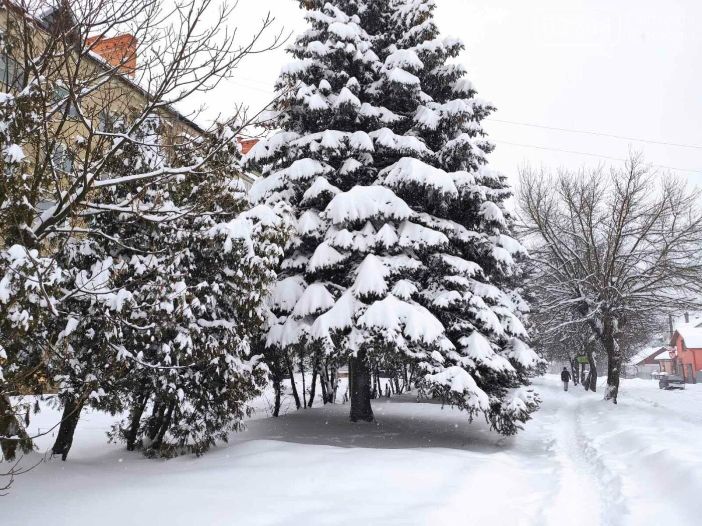 У сніговій пастці – негода випробовує Дрогобиччину. Не всім сьогодні вдалося потрапити на роботу та до школи, фото-19