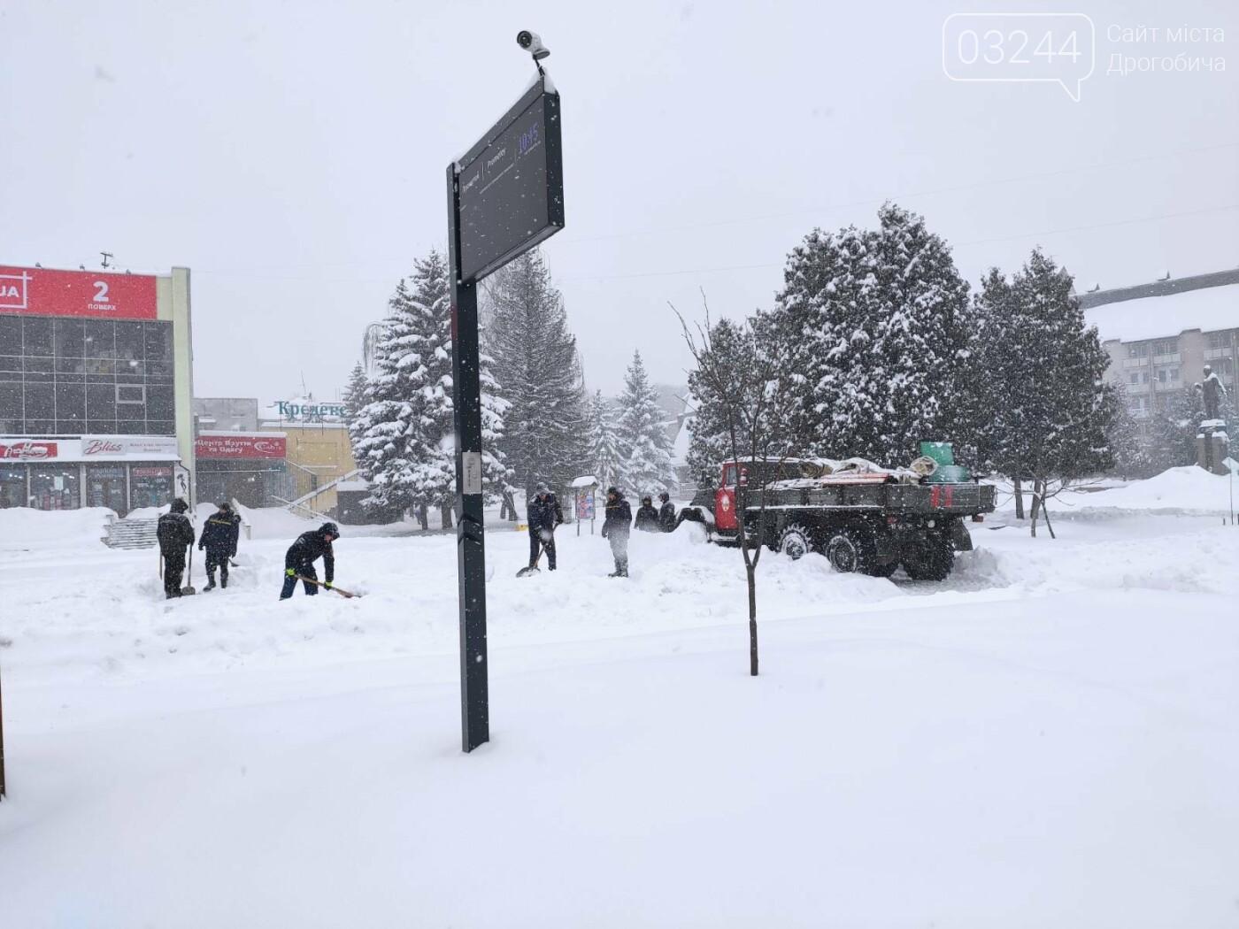 Щоб не замерзнути: у Дрогобичі розгорнули 2 пункти обігріву - один тимчасовий, інший - стаціонарний, фото-1