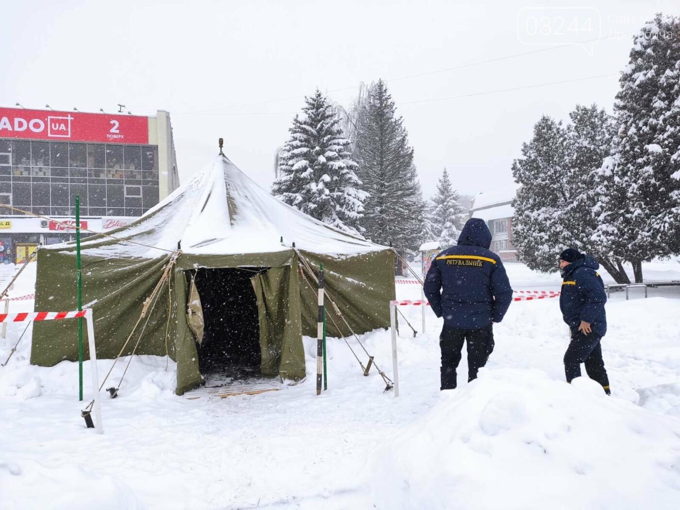 Щоб не замерзнути: у Дрогобичі розгорнули 2 пункти обігріву - один тимчасовий, інший - стаціонарний, фото-7