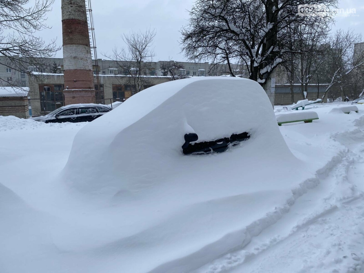 Притрусило: негода перетворила автівки, які не виїжджали кілька днів, на снігові кургани, - ФОТОРЕПОРТАЖ, фото-3