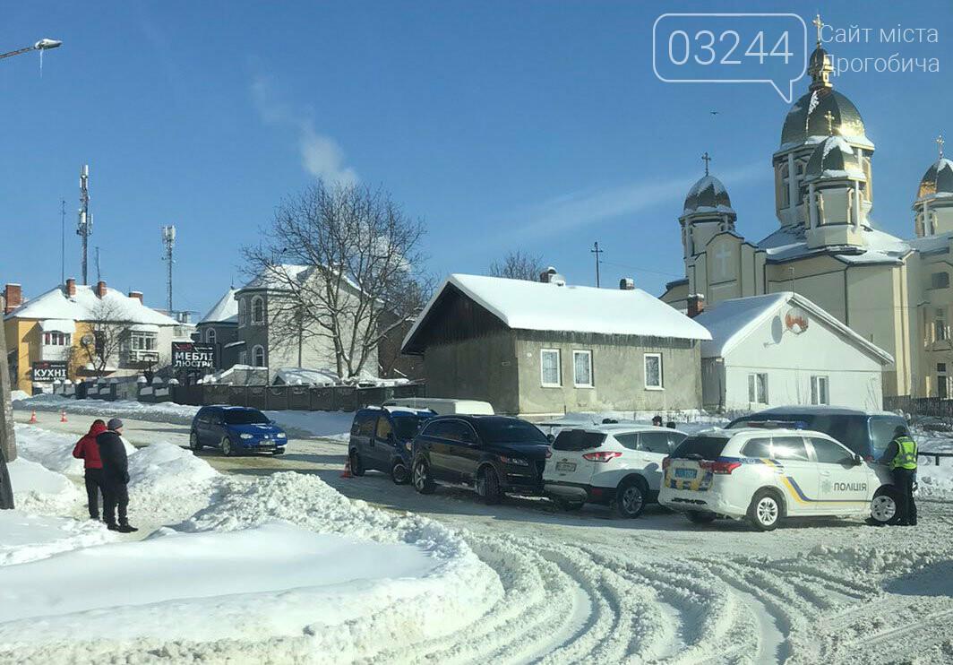 Потрійна ДТП у Дрогобичі, фото-1