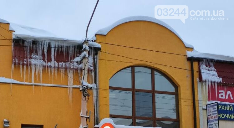 Обережно: з дахів звисають величезні бурульки, - ФОТО, фото-7
