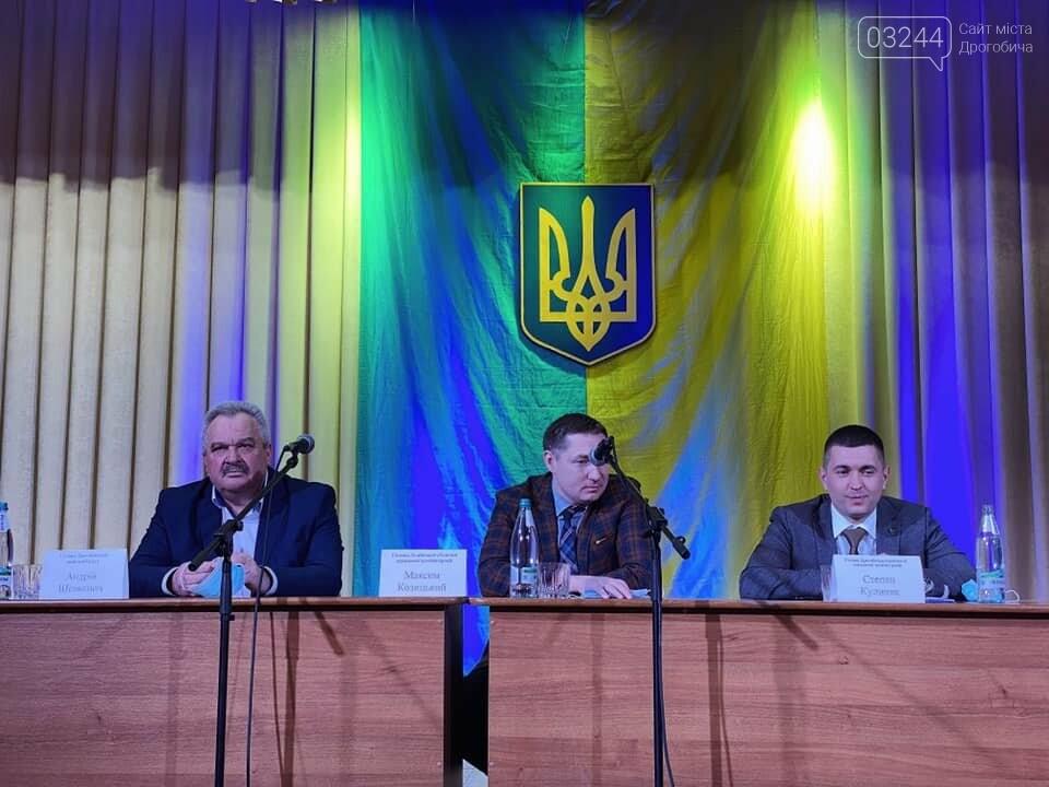 В Дрогобицькій РДА офіційно представили нового очільника, фото-3