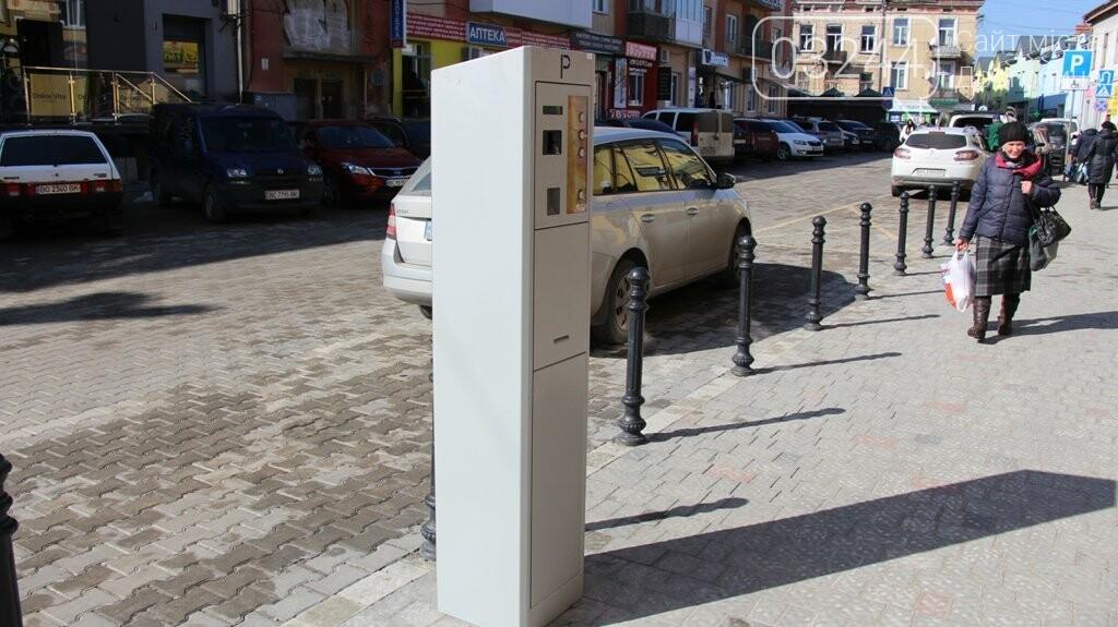 Паркуємось платно: на вулиці Шолом-Алейхема запрацювали паркомати, фото-2