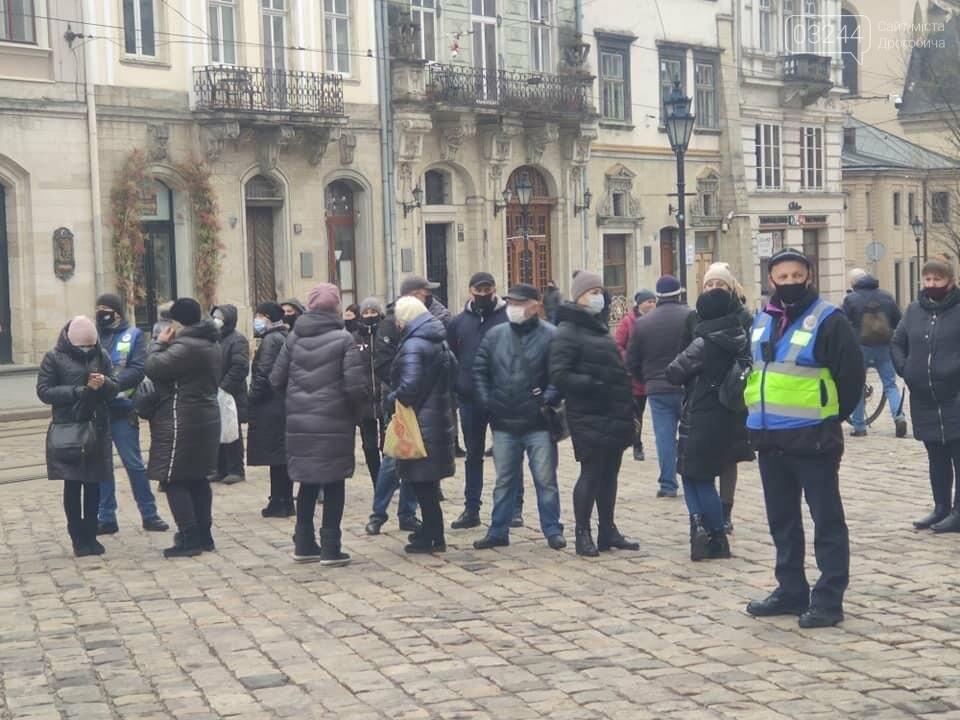 У центрі Львова підприємці протестували проти карантину, - ФОТО, фото-3