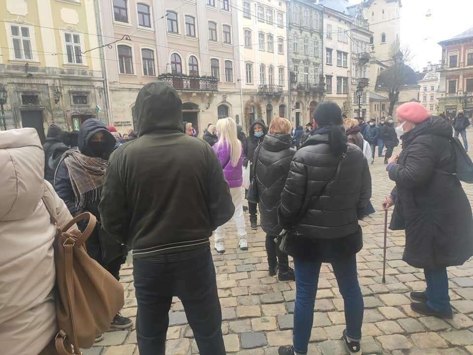 У центрі Львова підприємці протестували проти карантину, - ФОТО, фото-2