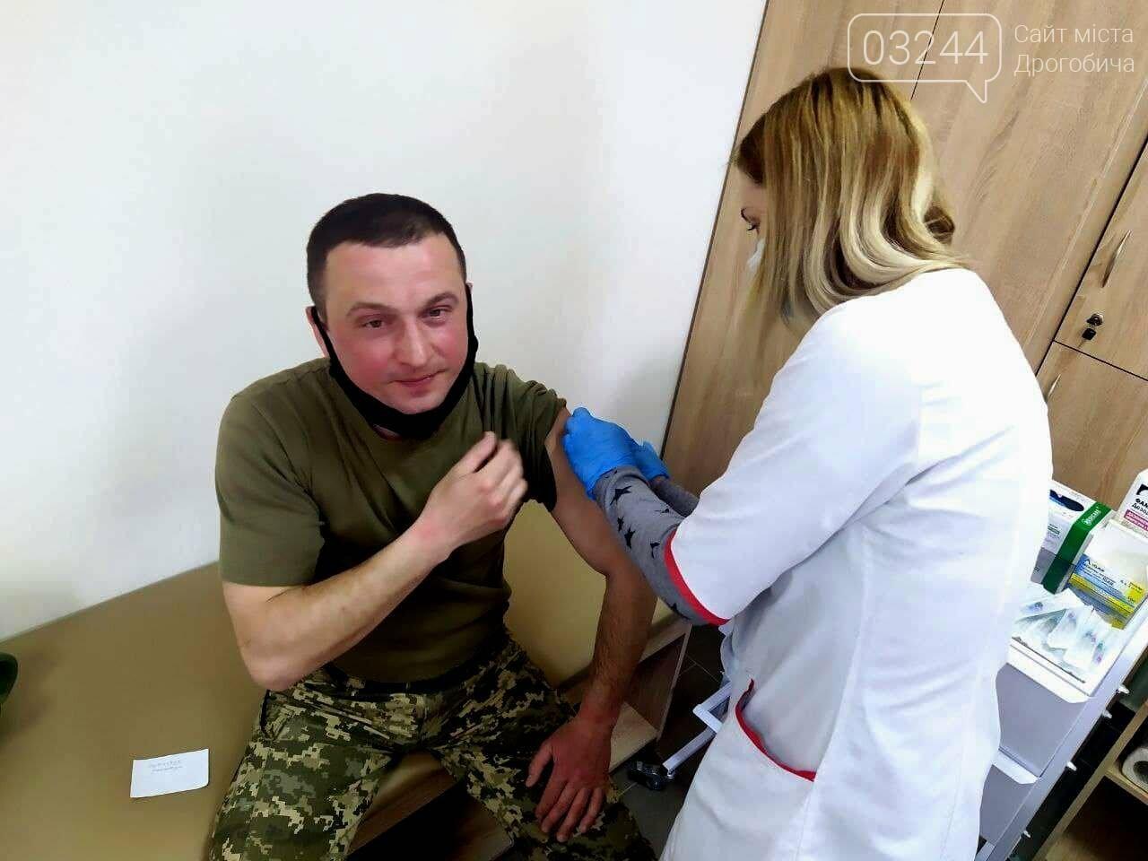 Дрогобицькі військовослужбовці проходять вакцинацію, фото-3