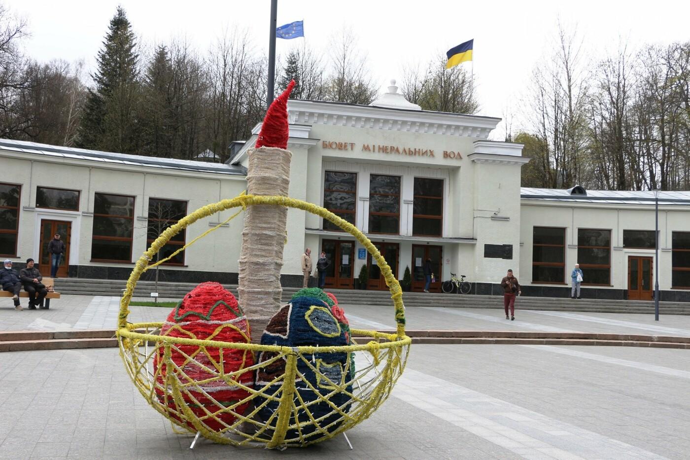 У Бориславі писанкове дерево, в Трускавці – великодній кошик, у Дрогобичі – писанки: міста чепурять до Великодня, фото-9