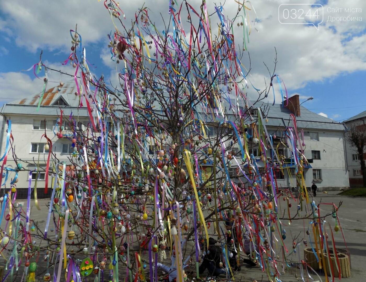 У Бориславі писанкове дерево, в Трускавці – великодній кошик, у Дрогобичі – писанки: міста чепурять до Великодня, фото-3