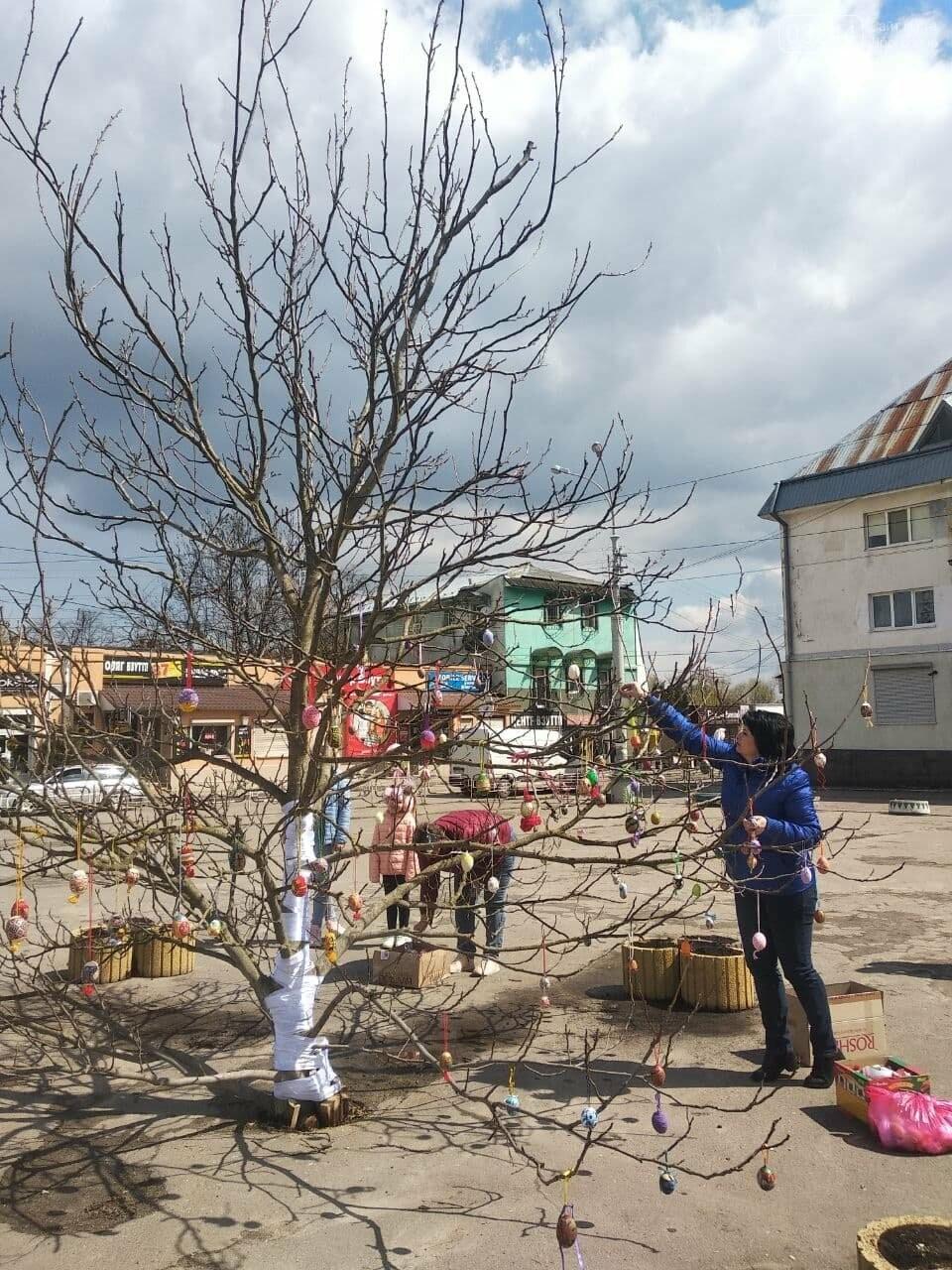 У Бориславі писанкове дерево, в Трускавці – великодній кошик, у Дрогобичі – писанки: міста чепурять до Великодня, фото-4