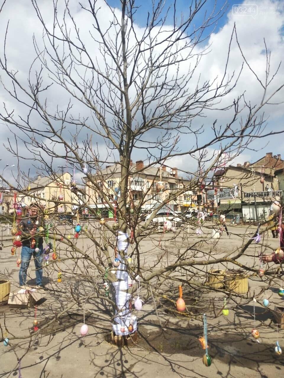 У Бориславі писанкове дерево, в Трускавці – великодній кошик, у Дрогобичі – писанки: міста чепурять до Великодня, фото-5
