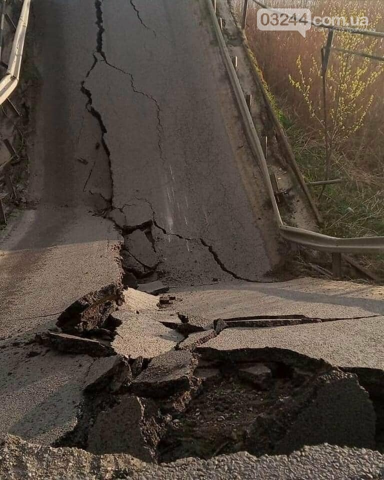 На трасі біля Кам'янки-Бузької провалився міст через Західний Буг, фото-2