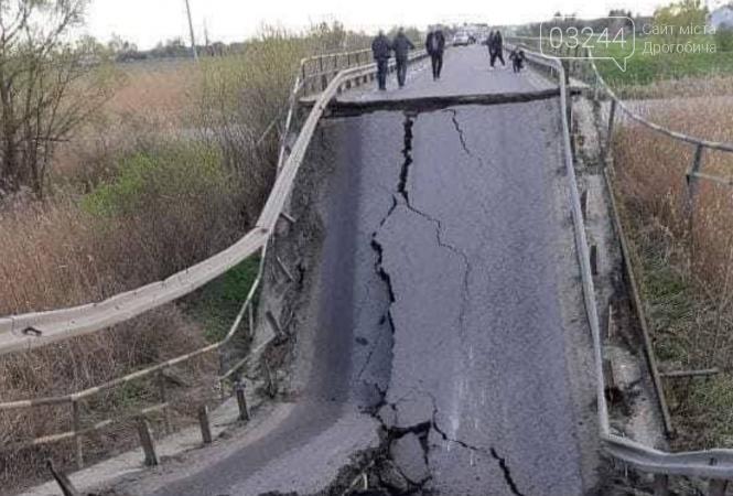 На трасі біля Кам'янки-Бузької провалився міст через Західний Буг, фото-1