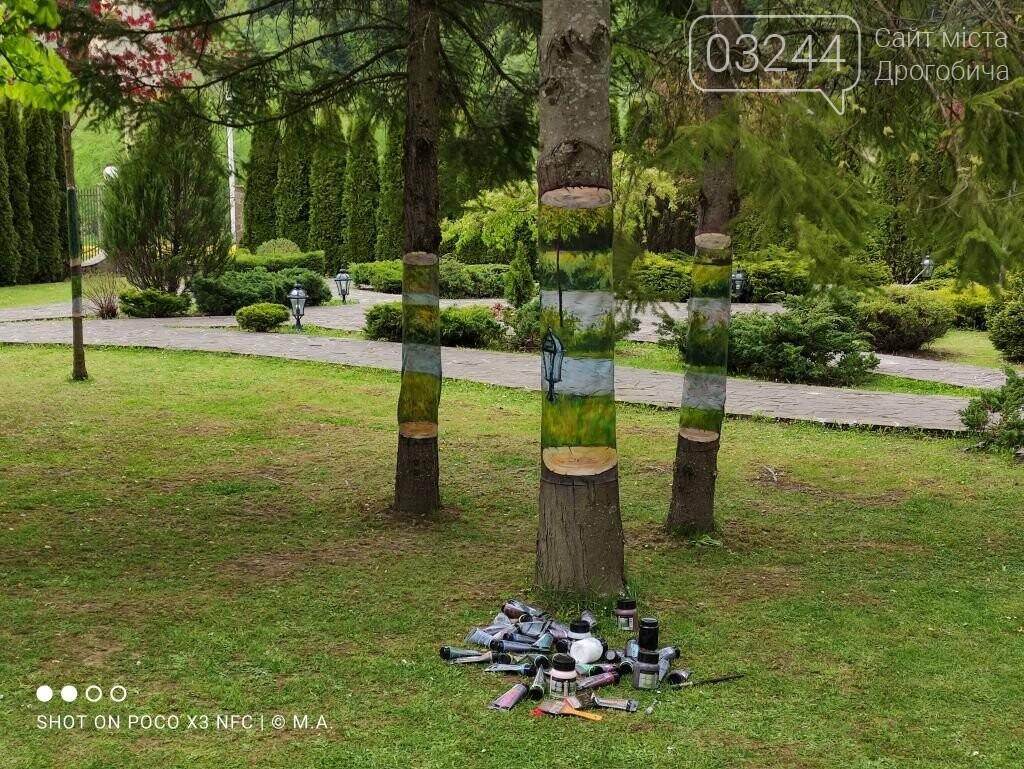 """Художниця Наталія Поліщук презентувала у Східниці незвичний арт-проєкт """"Сад висячих дерев"""", фото-2"""