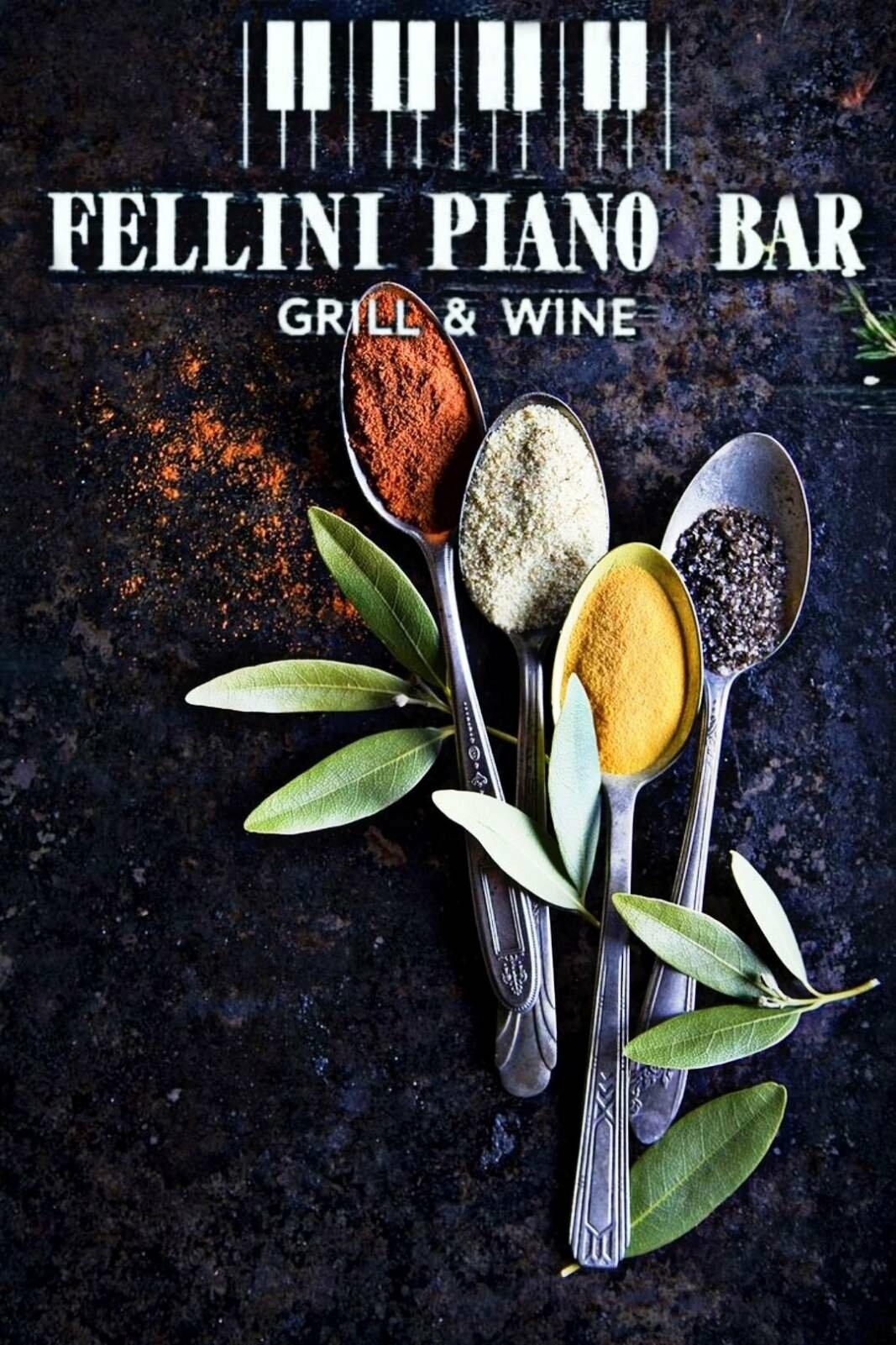 Меню Fellini Piano Bar, фото-1