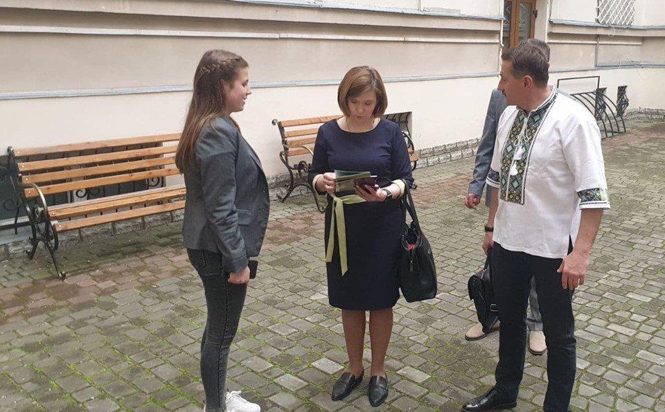 Дрогобич відвідала в.о. Міністра освіти і науки України Любомира Мандзій, фото-1